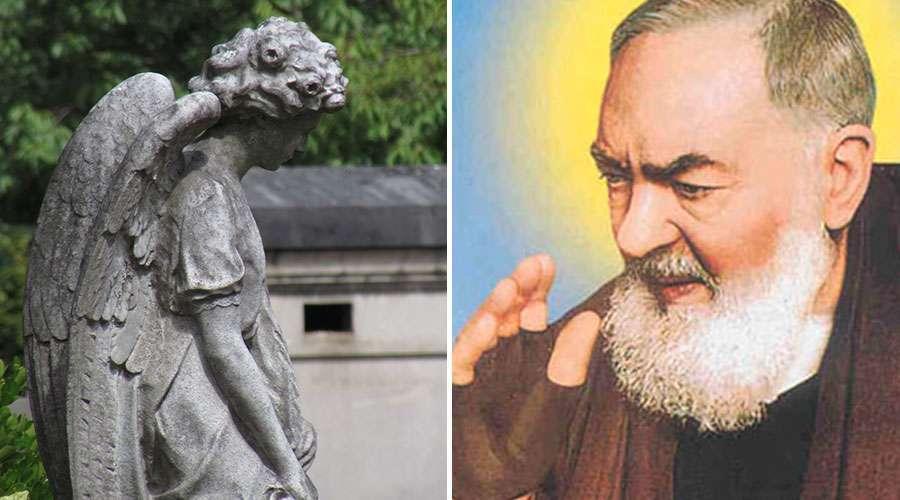 .Cinco fatos que talvez você não saiba sobre o Padre Pio e seu anjo da guarda.