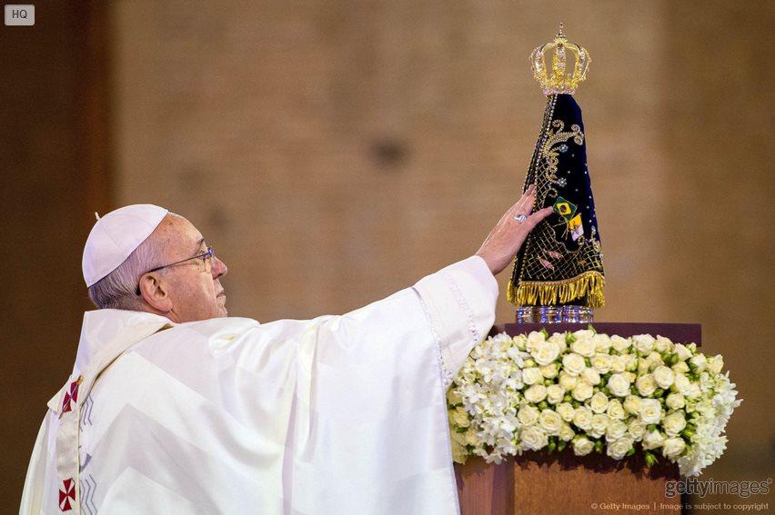 .Um cristão sem Maria está órfão.