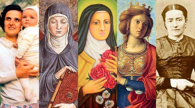 .10 mamães católicas que alcançaram a santidade.