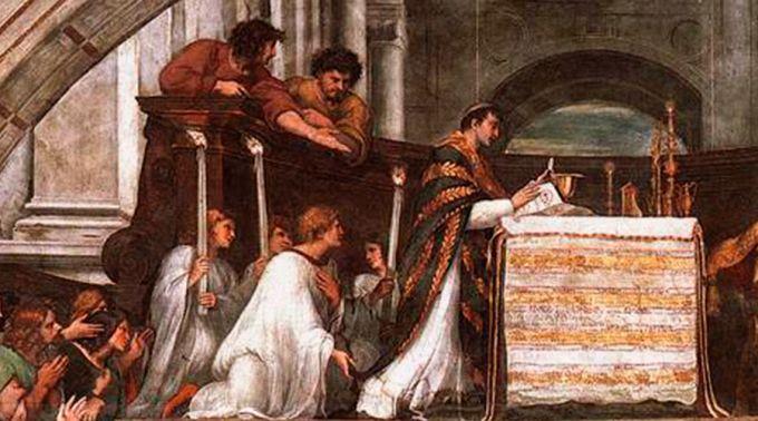 .O milagre eucarístico com o qual se instituiu a Solenidade de Corpus Christi.