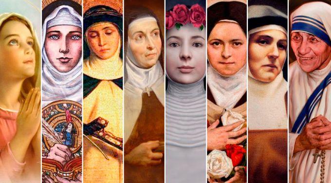 .8 mulheres que foram exemplares para a Igreja e o mundo.