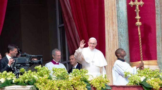 .Mensagem de Páscoa e Bênção Urbi et Orbi 2018 do Papa Francisco.