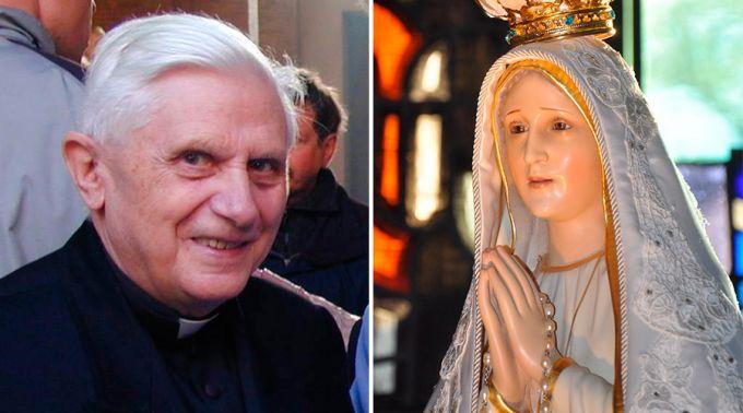 .Esta foi a explicação do Cardeal Ratzinger sobre o terceiro segredo de Fátima.