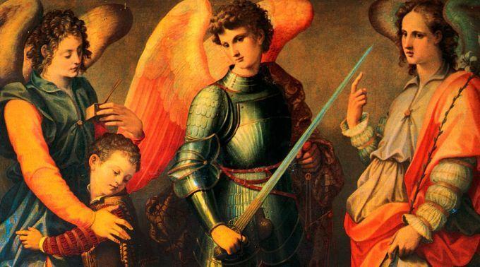 .Novena dos Santos Arcanjos Miguel, Gabriel e Rafael.