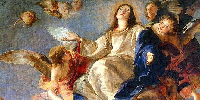 .A Assunção da Virgem Maria e os outros dogmas marianos..