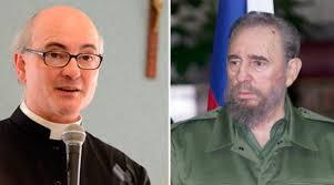""".Assim Padre Fortea responde a quem o acusa de """"condenar"""" Fidel Castro ao inferno."""