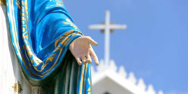 .Algo maravilhoso acontece quando você confia na Virgem Santíssima.