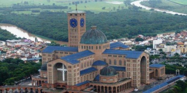 .Inauguração da cúpula central será marco dos 300 anos de Aparecida.