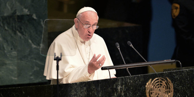 """.""""Quando tudo se torna pecado: isso é corrupção"""", afirma o Papa."""